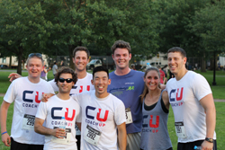 The CoachUp team after the race