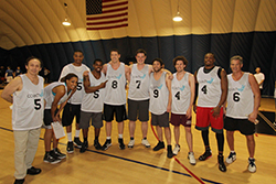 The entire CoachUp Team - Raise the Rim Champions 2013