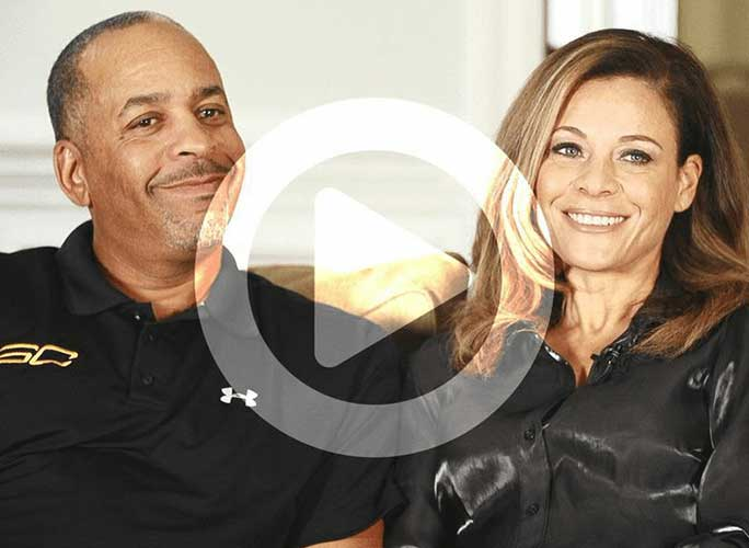 Dell and Sonya Curry talk about raising Stephen